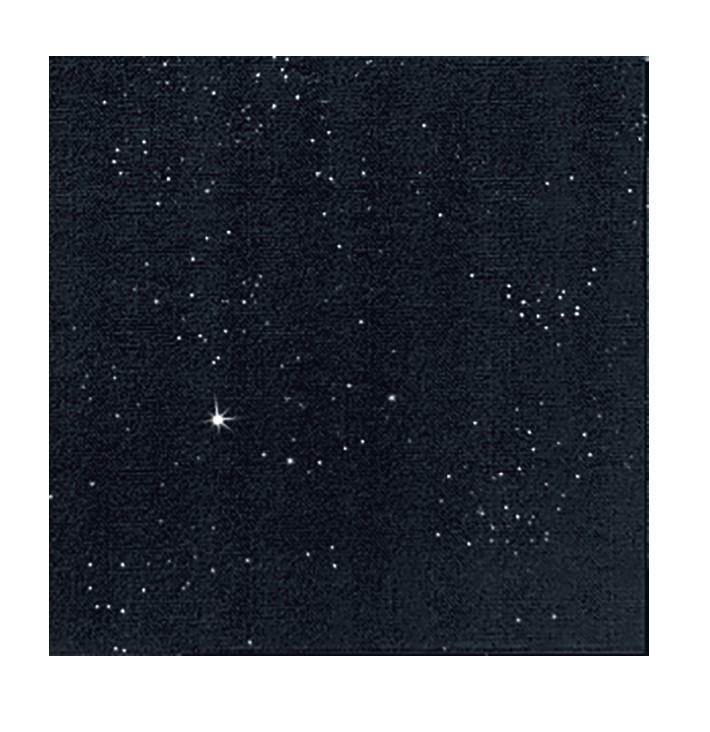 Ubrousek 40x40 Dlin Brilliance Black 45k | Duni - Ubrousky, kapsy na příbory - Dunilin 40x40