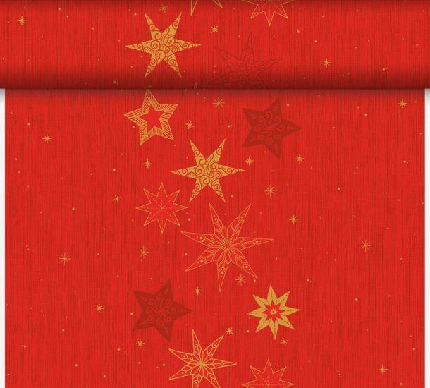 Téte-a-Téte 0.4x24m Star Stories Red | Duni - Ubrusy, šerpy, prostírky