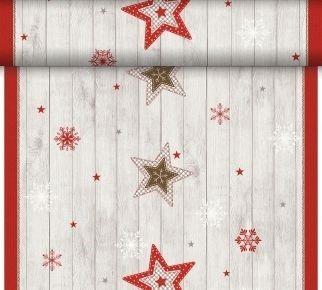 Téte-a-Téte 0.4x24m Cozy Winter | Duni - Ubrusy, šerpy, prostírky