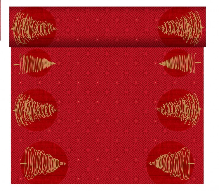 Tete-a-Tete 0,4x24m Elegant Tress   Duni - Ubrusy, šerpy, prostírky - Šerpy