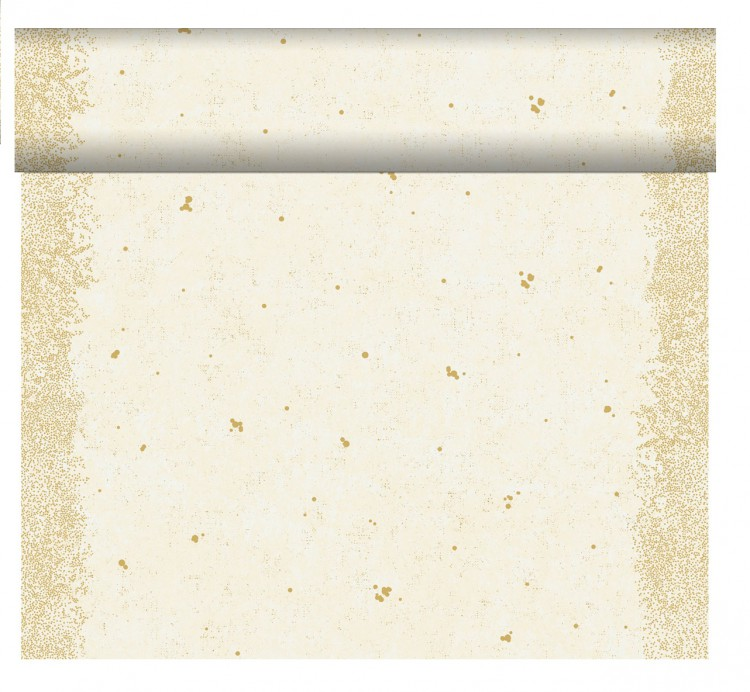 Téte-a-Téte 0,4x24m Celebrate White | Duni - Ubrusy, šerpy, prostírky - Šerpy