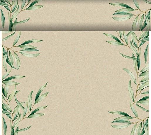 Téta-a-Téte 0,4x24m Foliage   Duni - Ubrusy, šerpy, prostírky - Šerpy