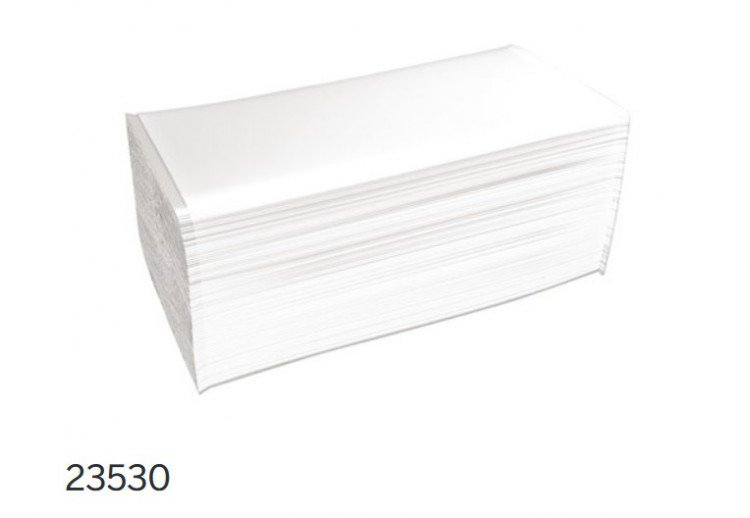 Pap.ručníky Z-Z 2V 80% bělost 5040ks | Katrin - Skládané ručníky