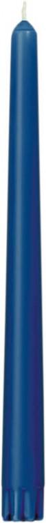 Svíčka 25cm Tmavě modrá 1ks | Duni - Svíčky, svícny, kroužky - Svíčky