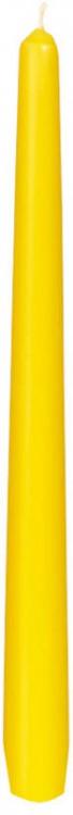 Svíčka 25cm Žlutá 1ks | Duni - Svíčky, svícny, kroužky - Svíčky