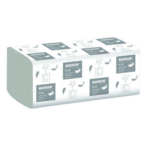 Pap. ruč. Katrin Z-Z 2V celulóza 4000ks | Papírové a hygienické výrobky - Utěrky a ručníky