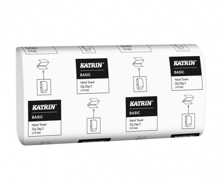Katrin BASIC Z-Z 21x150=3150 Ks | Papírové a hygienické výrobky - Utěrky a ručníky