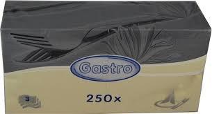 Ubrousek 33x33 3V Vanilkové/béžové 250ks | Papírové a hygienické výrobky - Ubrousky - Vícevrstvé