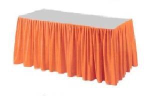 Stolová sukýnka Premium 0,72x4m Aprikot | Duni - Banketové role, sukně - Rautové sukně