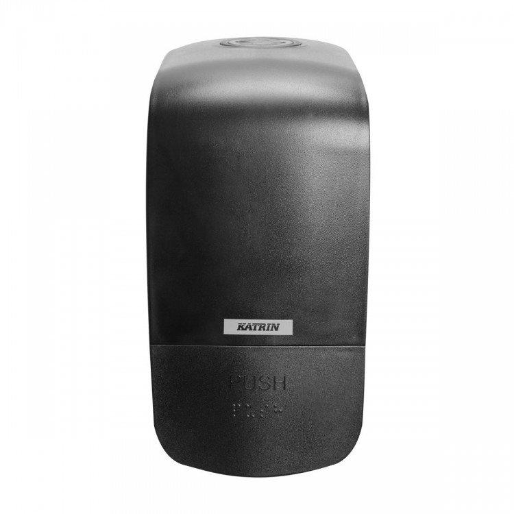 Katrin Incl zásobník na mýdlo 0.5l Black | Katrin - Zásobníky/náplně