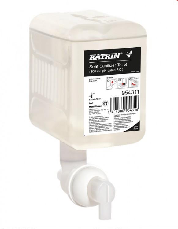 Desinfekce na WC sedát/seat Sanitizer0.5 | Katrin - Zásobníky/náplně